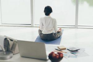 Week van de werkstress, meditatie